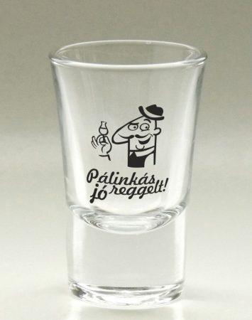 Pálinkás pohár, víztiszta 3,4 cl, Feri