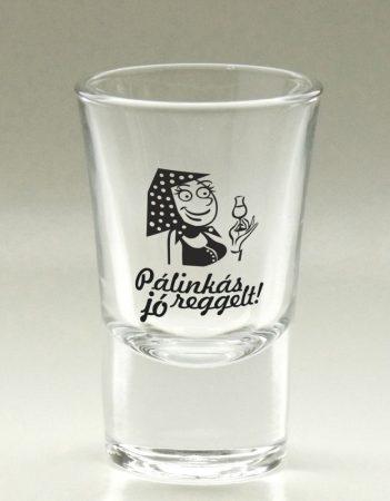 Pálinkás pohár, víztiszta 3,4 cl Piri