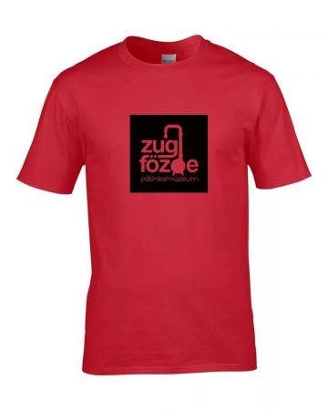 Pálinkamúzeum T-shirt, piros