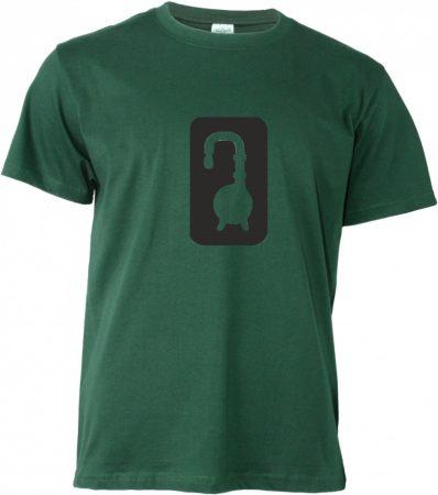 Főzde T-shirt, sötétzöld